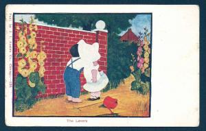 Sunbonnet Girl 'The Lovers' unused c1905