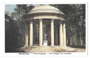 France Versailles Petit Trianon Temple de L'Amour Postcard