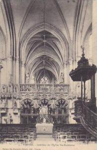 France Troyes Interieur de l'Eglise Sainte Madeleine