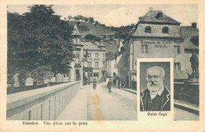 Luxembourg Vianden Vue prise sur le Pont Victor Hugo 04.00