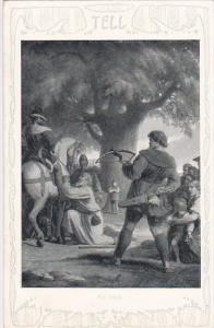 William TELL the Archer, Little Boy with apple on head, 10-20s