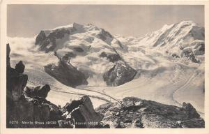 BR36449 Monte Rosa et lyskamm    Switzerland