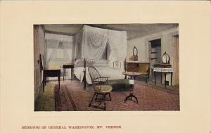 Virginia Mountain Vernon Bedroom Of General Washington