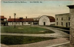 MD - Baltimore. Fort McHenry, Parade Ground