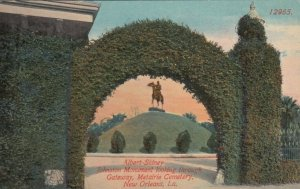 NEW  ORLEANS, LA, 1900-10s; Albert Sidney Johnston Monument, Gateway, Cemetery