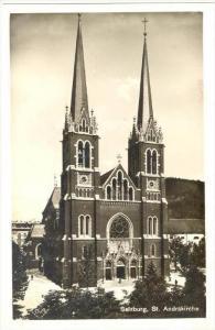 RP  Salzburg, St. Andrakirche , Austria, 1910s