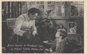 SAN FRANCISCO, CA, 1940s; Butch Jenkins & Chingwah Lee in Little Mister Jim