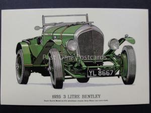 Vintage Car: 1925 3 Litre Bentley - Pub by Prescott Pickup & Co