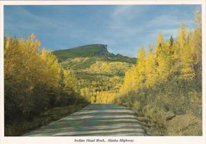 Canada British Columbia Indian Head Rock Alaska Highway