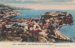Vue Generale De La Principaute, Monaco, 1900-1910s
