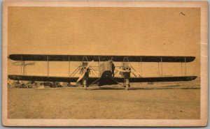 Vintage Early Aviation Collector's Card 5 - MARTIN MB-2 Martin Company Photo