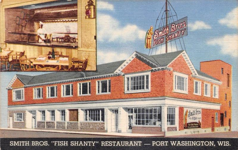 USA Wis. Port Washington Smith Bros. Fish Shanty Restaurant