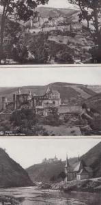 Vianden Luxembourg Chateau 3x Real Photo Postcard s