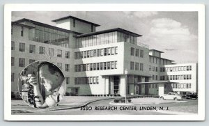 Linden NJ~Esso Research Center~Scientist Inset~George's Gas in Manchester CT~'49