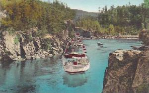Hand-Colored, The Big Bend from the Bridge, Dalles of the St. Croix, Taylors ...