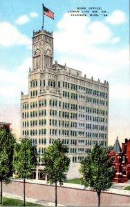 Mississippi Jackson Lamar Life Insurance Company Home Office