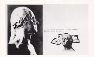 RP; Profile Bust of Washington by Jean Antoine Houdon made in 1785, 1950s