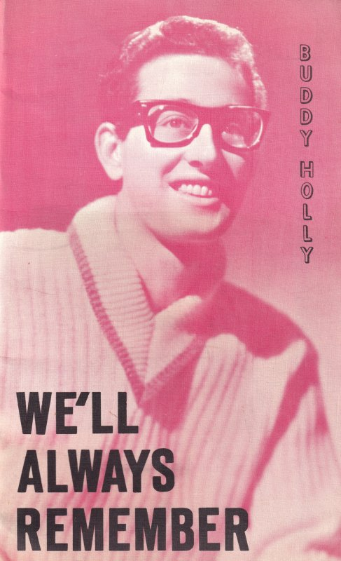 Buddy Holly We'll Always Remember Rare Magazine Fanzine