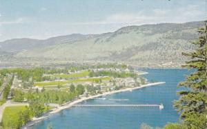 Aerial View, Lakeview Resorts LTD., Fishing, Boating on Little Shuswap Lake, ...