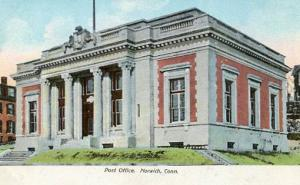CT - Norwich - U. S. Post Office