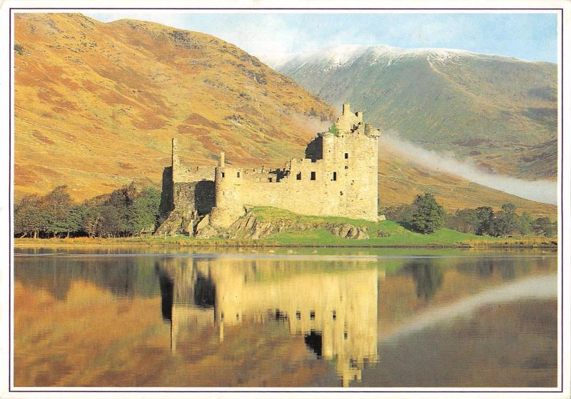 uk34404 kilchurn castle loch awe scotland  uk
