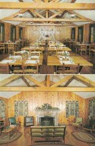 BLOWING ROCK , North Carolina, 50-60s; Ranch Motel & Restaurant