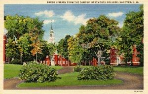 NH - Hanover. Dartmouth College, Baker Library