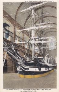 Whaling Bark [Boat] LAGODA 2/3 , Whaling Museum , NEW BEDFORD , Massachuset...