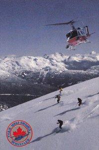 [BC} TYAX Heli-Skiing , WHISTLER , B.C. , Canada 40-60s