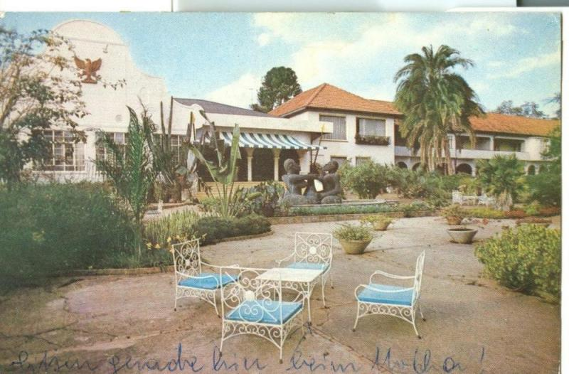 Kenya, Safari Park Hotel, Nairobi, used Postcard