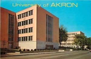 OH University of Akron~Administration Bldg~Education Bldg~1980s~Wilbur Evans