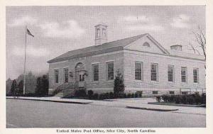 North Carolina Siler City United States Post Office