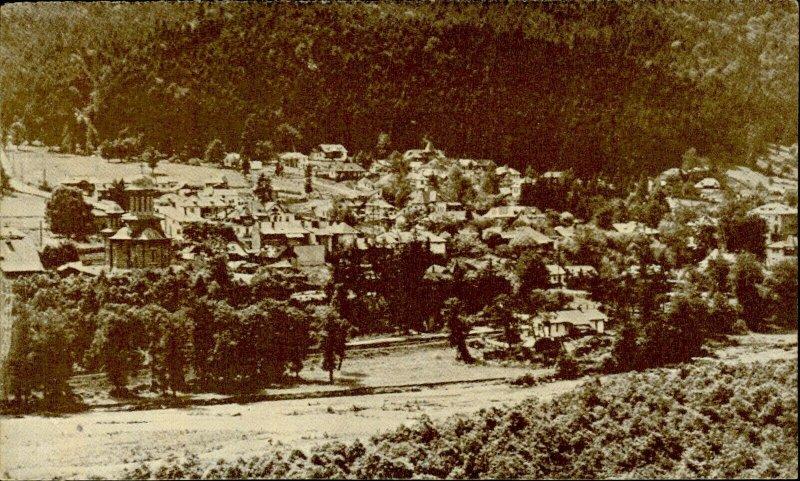 IMR00327 romania prahova poiana tapului general view europa tourism organiz 1935