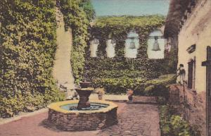Sacred Garden Campanario and Mission Bells Old Mission San Juan Capistrano Ca...