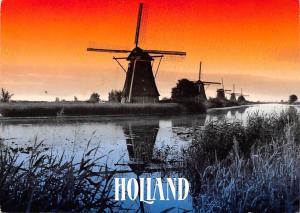 Holland Mills Sunset Muhle Moule