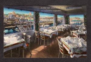 CA Vista Del Mar Restaurant SAN Francisco POSTCARD PC