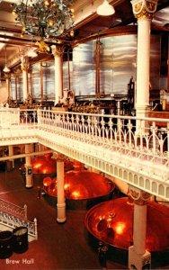 Missouri St Louis Anheuser Busch Brewery Brew Room
