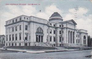 Iowa Historical Building Des Moines Iowa 1909