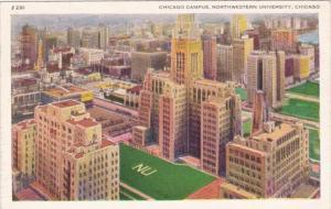 Illinois Chicago Northwestern University Chicago Campus 1941