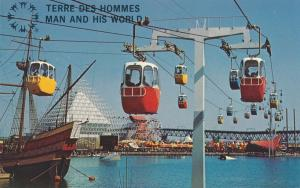 Sky Ride at Man and His World - Terre Des Hommes - Montreal QC, Quebec, Canada