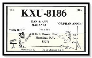 New York, Hannibal QSL - (MX-018)