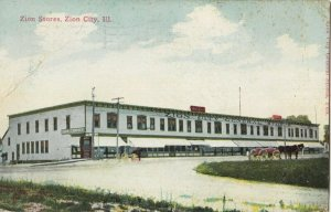 ZION CITY , Illinois, PU-1913; Zion Stores