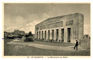 Saint Quentin La Monument aux Morts