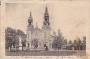 The Basilica, Ste. Anne de Beaupre, Quebec,   PU_1903