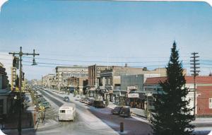 Main Street , North , Moose Jaw , Saskatchewan , Canada , 40-60s