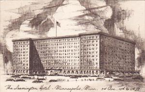 The Leamington Hotel, MINNEAPOLIS, Minnesota, PU-1950