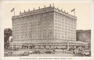 Michigan Detroit The Detroiter Hotel