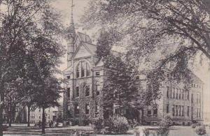 Ohio Oberlin Peters Hall Oberlin College Albertype
