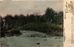 CPA INDONESIA Buitenzorg. Hangbrug Batoe Toelis (341433)