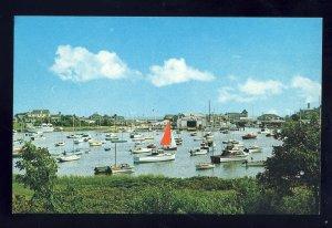 Harwichport, Massachusetts/MA Postcard, Wychmere Harbor, Cape Cod